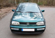 VW Golf III, only 82 000 miles, excellent condition, already inspected!!! in Ramstein, Germany
