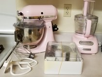 PINK Kitchenaid Set in Fort Irwin, California