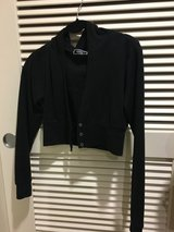 Blk jacket w/hood sz S in Okinawa, Japan