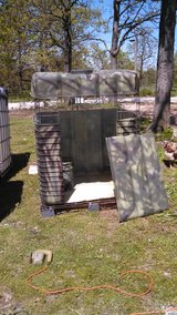 Camo hunting blind/stand in Lake of the Ozarks, Missouri