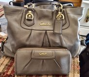 Authentic Coach Purse w/Matching Wallet in Yorkville, Illinois