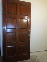 solid wood door in Spring, Texas