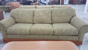 Flower pattern couch in Camp Lejeune, North Carolina