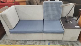 Grey and blue couch in Camp Lejeune, North Carolina