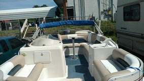 Hurricane Deck Boat Four Stroke Yamaha And Trailer in Camp Lejeune, North Carolina