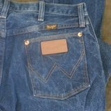 Wrangler cowboy cut jeans in Cleveland, Texas