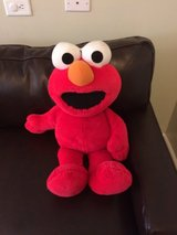 Large stuffed Elmo in Glendale Heights, Illinois