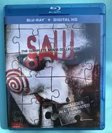 Blu-Ray + Digital HD - SAW - The Complete Collection - ALL 7 Films (Unrated) - Played ONCE! $10 in Fort Campbell, Kentucky