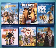 Family Friendly / Kids Movies Blu-Ray + DVD + Digital Copy $7 EACH in Fort Campbell, Kentucky