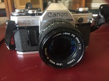 Canon AE-1  Camera with Lens in Glendale Heights, Illinois