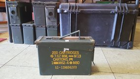 small, medium, and large ammo/tool boxes in Fort Polk, Louisiana