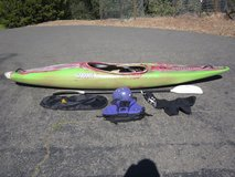 Dagger Animas Whitewater Kayak w/Accessories - Good for Larger Paddler in Vacaville, California