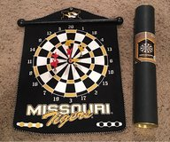 Missouri Tigers magnetic dartboard in Fort Leonard Wood, Missouri
