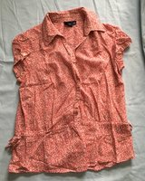 Sonoma Red Blouse Size M in Warner Robins, Georgia