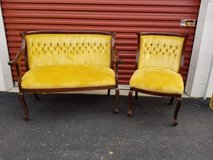 Vintage Mahogany Settee in Richmond, Virginia