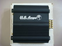 US Amps USA-50 (Black) Car Amplifier w/Crossover (BNIB) in Okinawa, Japan