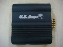 US Amps USA-50 (Black) Car Amplifier w/Crossover in Okinawa, Japan