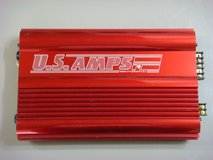 US Amps USA-150 (Candy Apple Red) Car Amplifier in Okinawa, Japan