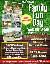 Family Fun Day in Fort Eustis, Virginia