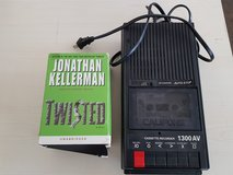 110 Volt cassette player with audio book in Ramstein, Germany