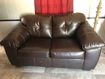 Leather Couch & Loveseat in Alexandria, Louisiana