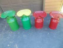 MILK CAN STOOLS in Orland Park, Illinois