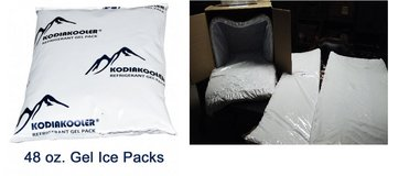 Kodiak natural fiber liners and gel packs in Bolingbrook, Illinois