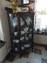 Antique Oak Curio in Conroe, Texas