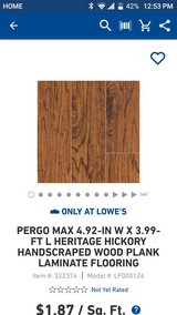 Pergo Hard Wood Flooring in Hinesville, Georgia