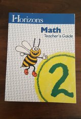Horizens Teacher Math Book (Grade 2) in Fort Campbell, Kentucky
