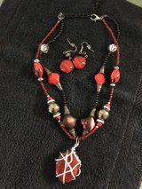 Necklace and earrings in Alamogordo, New Mexico