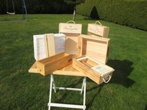 wine boxes in Ramstein, Germany