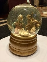 Vintage Fontanini Glitterdome Nativity Holy Family Musical Snow Globe in Joliet, Illinois