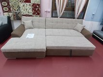 Model Treviso II Sectional Sofa with Bed Special Clearance Sale! in Spangdahlem, Germany
