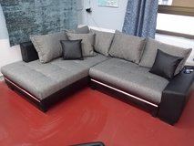 Nikki Sectional with Bed + LED + Sound System / Special Floormodel Sale! in Spangdahlem, Germany