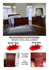 Quebec Bedroom Set Package New In Stock! in Spangdahlem, Germany