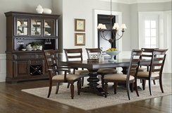 United Furniture - Toscana Dining Set - complete as shown with delivery - NEW ITEM- NEW ITEM in Stuttgart, GE