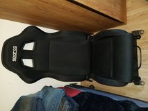 Sparco reclining racing seat in Spangdahlem, Germany