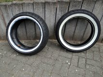 2 Set of brand new HD - Harley Davidson Motorcycle Tires - Sporster & Fat Boy Fatboy in Spangdahlem, Germany