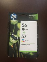 NEW-HP 56 BLACK & 57 TRI-COLOR Ink Cartridge C9321FN Combo-pack in Naperville, Illinois