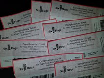 9 - Six Flags Great America general admission tickets in Naperville, Illinois