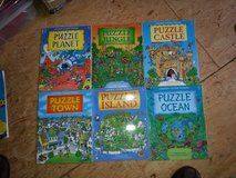 Assorted Usborne Puzzle Books (6) in Ramstein, Germany