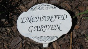 Enchanted Garden Sign in Chicago, Illinois