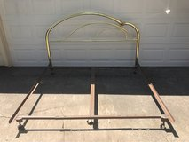 King Brass Headboard and Bed Frame in Tomball, Texas