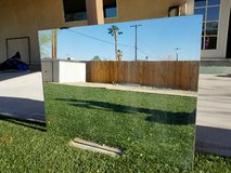 Large Unframed Mirror in 29 Palms, California