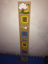 WOODEN GROWTH CHART in Ramstein, Germany