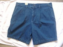 *NEW* Mens DOCKERS Denim Shorts 40W in 29 Palms, California