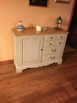 Cabinet with matching breakfast table with 6 chairs in Schaumburg, Illinois