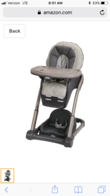 Graco 4-in-1 high chair in Dothan, Alabama
