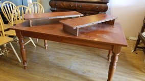 Broyhill pine dining table - seats 10 in Beaufort, South Carolina